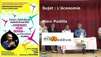 Pierre RABHI avec les Colibris Coeur d'Hérault à 'RENCONTRE SYNERGIE POUR DEMAIN' :#économie  #Lodève @mvtcolibris #PierreRabhi #TvLocale_fr
