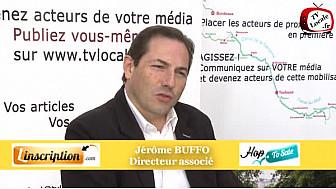 Jérôme BUFFO présente Somaweb  à un Rendez-Vous Economique de #TvLocale_fr #Toulouse
