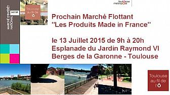 Toulouse : Marchés flottants, MIN @TlseMetropole #Toulouseaufildelo #cm-Toulouse