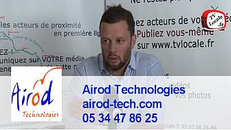 #RDV_Eco @TvLocale_fr : Mécatronique avec Airod Technologie de Laurent LATORSE #RoboticsPlace @lo_latorse