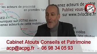 #RDV_Eco @TvLocale_fr : Gilles Nacache du Cabinet Atouts Conseils et Patrimoine
