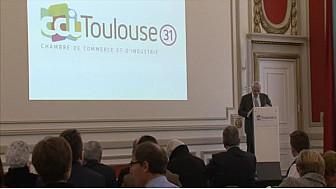 Alain Di Crescenzo, Président de la @CCI31 Toulouse optimiste pour 2016... @TvLocale_fr