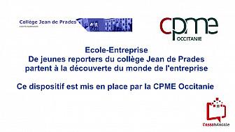CPME Occitanie: Les jeunes reporters du collège Jean de Prades visitent l'entreprise  VDL Service 82  à Castelsarrasin.  @CPMEoccitanie 