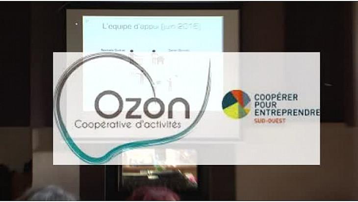 Interview de Pierre BESNARD Préfet du Tarn-et-Garonne et de Sarah BONNET co-gérante de la coopérative  OZON à Septfonds (82) interview