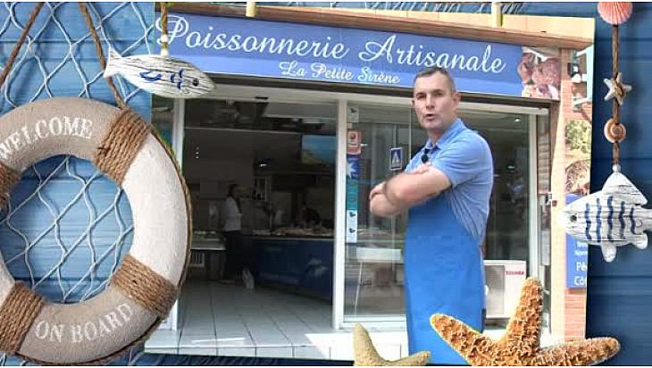 Tv Poisson Corail : Portrait d'Eric BRASSE de 'La Petite Sirène' à Tournefeuille #SCAPP