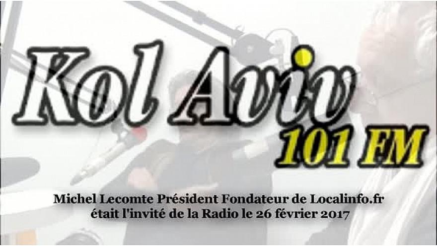Michel Lecomte fondateur du Média Social Localinfo.fr présente ses Réseaux Sociaux français au micro de Radio Kol Aviv #Toulouse #TvLocale_fr #Veitech
