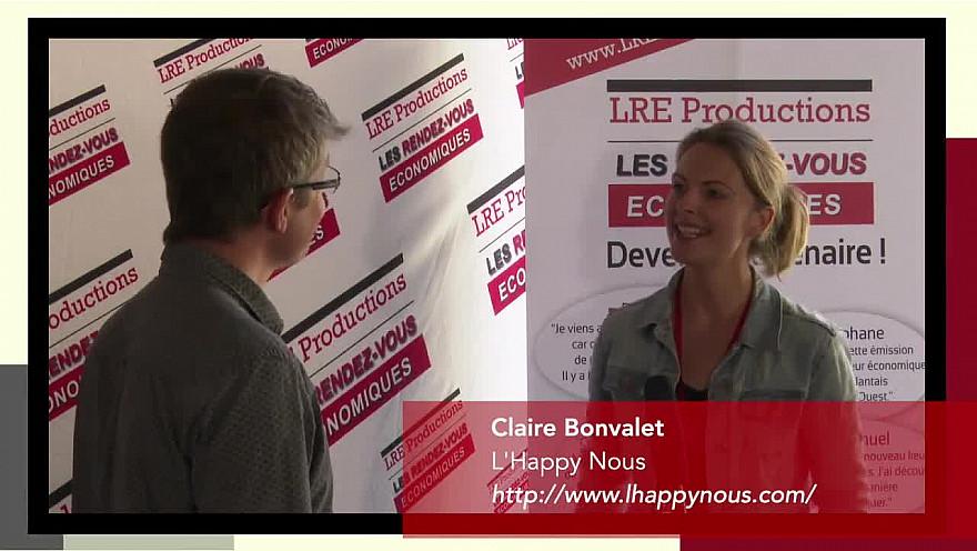 'Les rendez-vous économiques Smartrezo' :Claire Bonvalet - Technicienne & Praticienne en management du stress