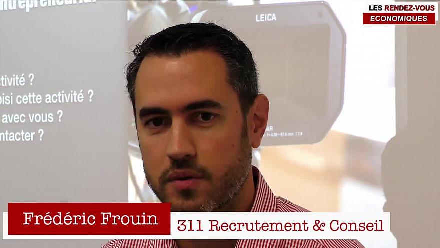 Les Rendez-vous Économiques Smartrezo : Frédéric Frouin @cpme44 #agence311 #interview