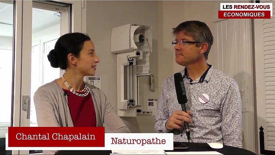 Les Rendez-vous Économiques Smartrezo 15/11 Chantal Chapalain Naturopathe #interview #éco-engagement