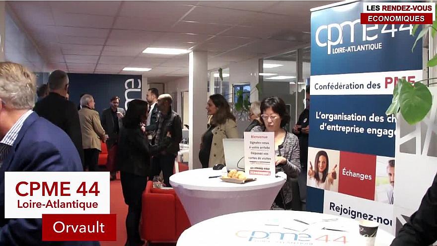 Les Rendez-vous Économiques Smartrezo :  CPME44 #reportage #entrepreneur @cpme44