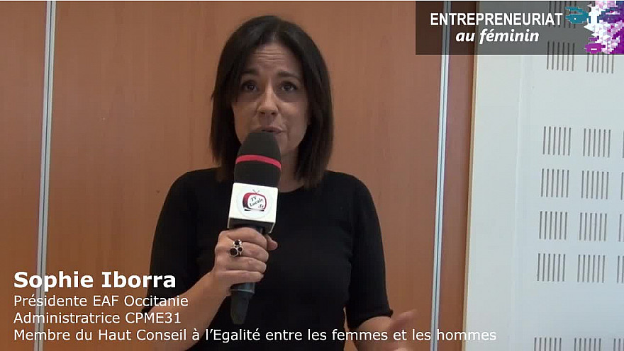 Structuration de l'EAF Occitanie - Sophie Iborra a bon espoir que l'on entente parler des femmes cheffes d'entreprise très vite.   @iborrasophie1 @CPME82 @CPMEoccitanie @HCEfh @smartrezo