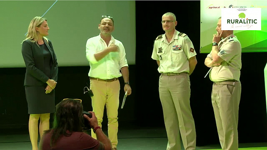 Prix Coup de Cœur RURALITIC 2019: Le Lieutenant-colonel Eric ARGAUT présente le Régiment SMV Service Militaire Volontaire @RURALITIC2019 @MTN_cote @JCNguyenVanSang