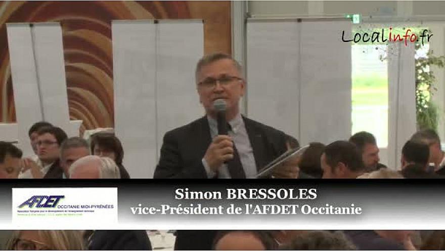 Intervention de Simon Bressoles vice-Président de l'AFDET Occitanie à la Journée de la CPME en Tarn-et-Garonne @AFDETLR @TvLocale_fr @Localinfo_fr